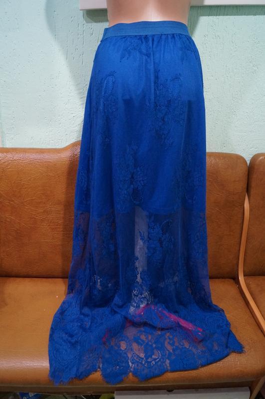 Летняя кружевная юбка р.s/m - Фото 2