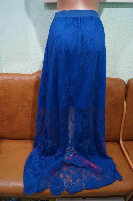 Летняя кружевная юбка р.s/m - Фото 4