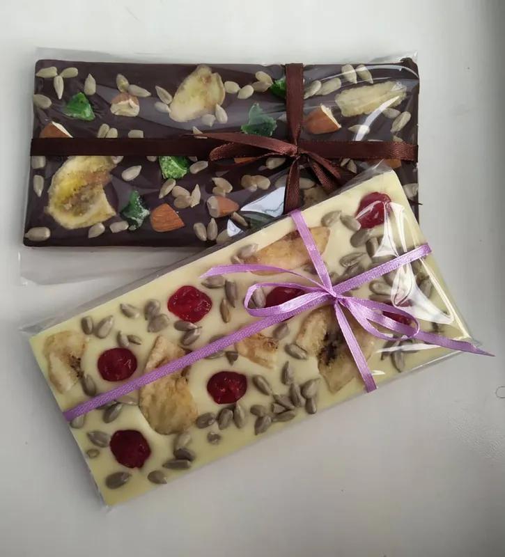 Солодкі подарунки ( шоколад ручної роботи) - Фото 12