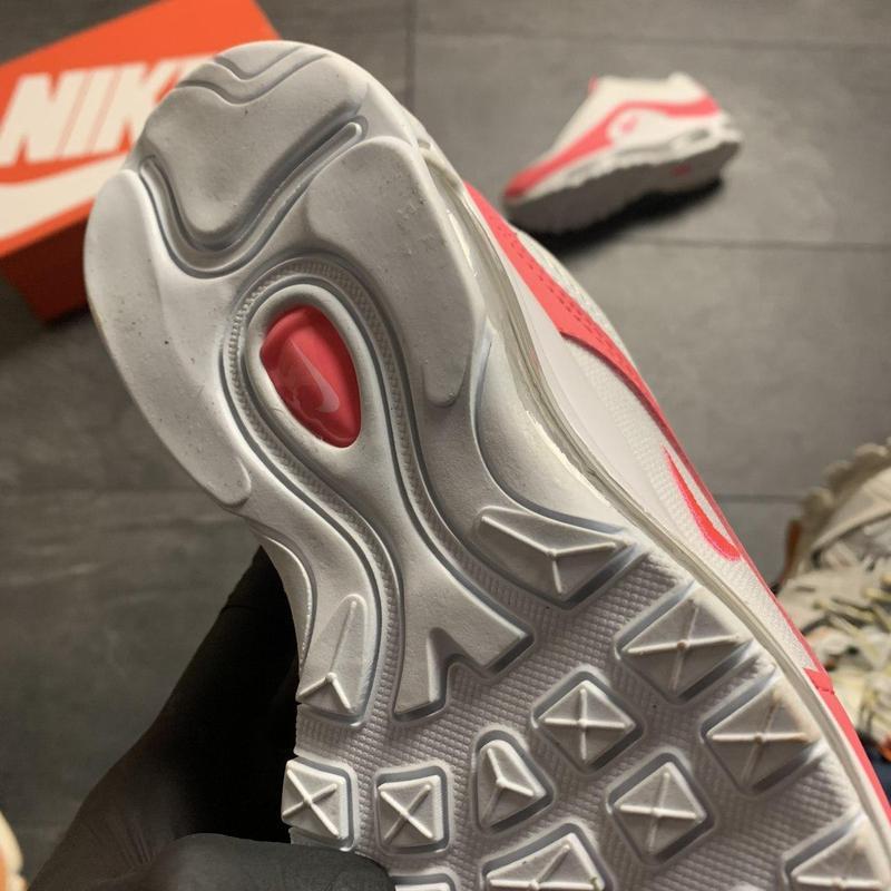 Nike air max 97 white red - Фото 4