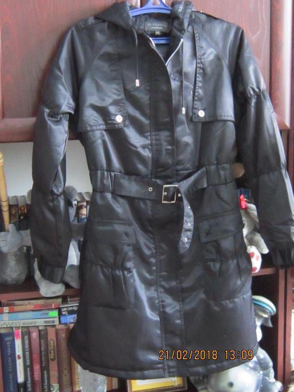 Куртка с капюшоном пальто