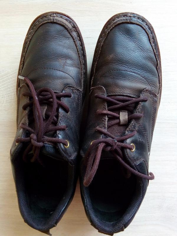 Осенние ботинки-мокасины cat (сaterpillar), 42р. - Фото 2