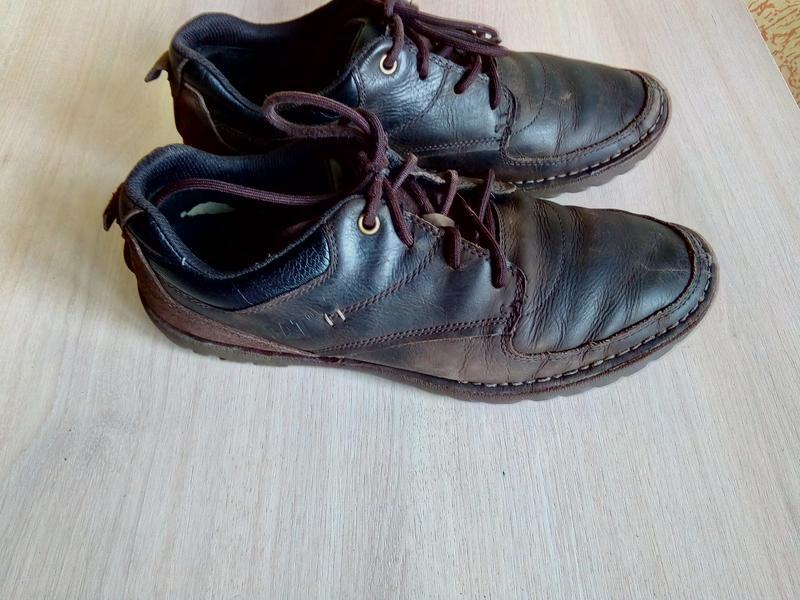 Осенние ботинки-мокасины cat (сaterpillar), 42р. - Фото 5