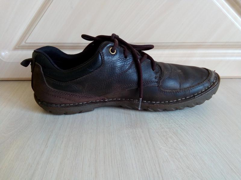 Осенние ботинки-мокасины cat (сaterpillar), 42р. - Фото 9