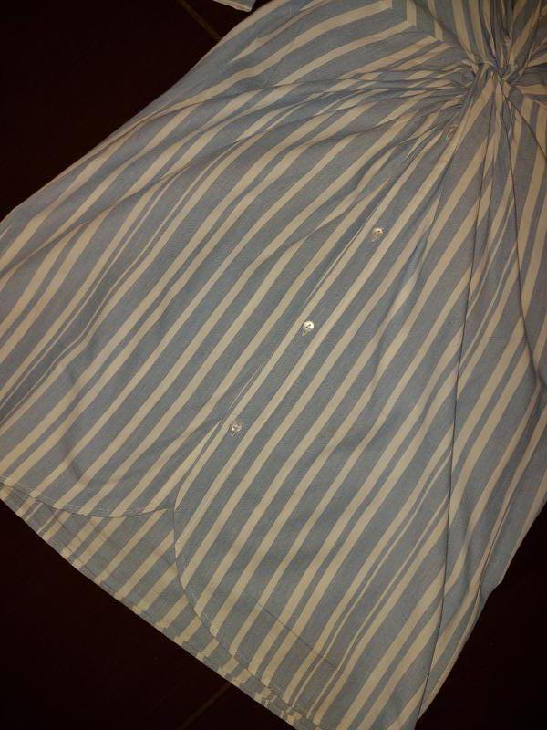 Платье рубашка миди в полоску Primark коттон - Фото 2