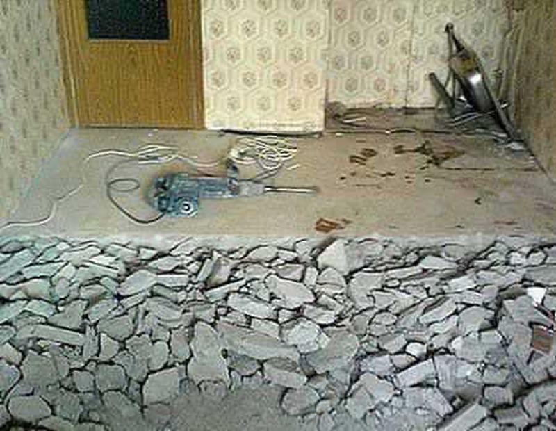 Демонтаж стен,полов,плитки, штукатурки и т.д. - Фото 5