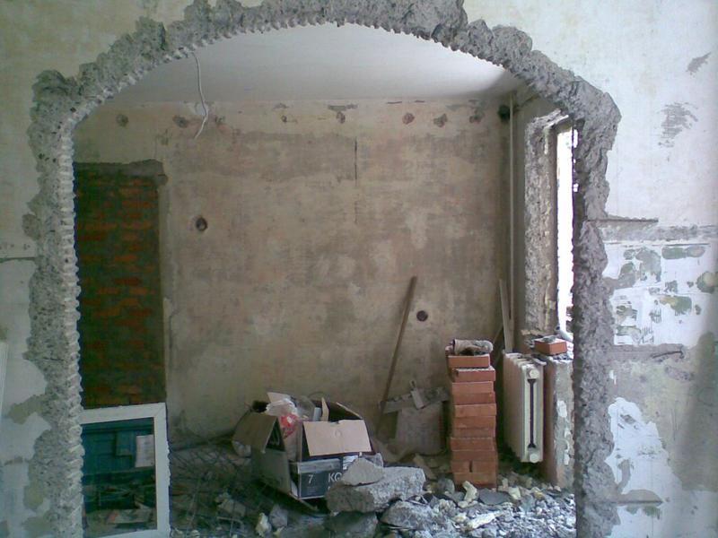 Демонтаж стен,полов,плитки, штукатурки и т.д. - Фото 8