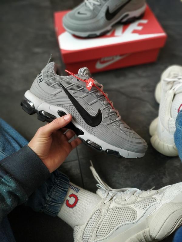 Nike mercurial 97 мужские кроссовки серые - Фото 2