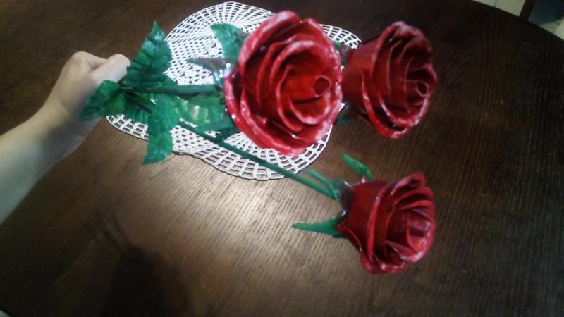 Кованная роза.Подарок на 8 березня - Фото 2