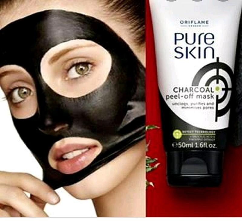 Маска против чорних точек  маска для обличчя з активованим вугілл