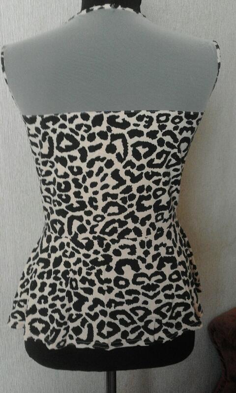 Леопардовая кофточка безрукавка польша - Фото 2