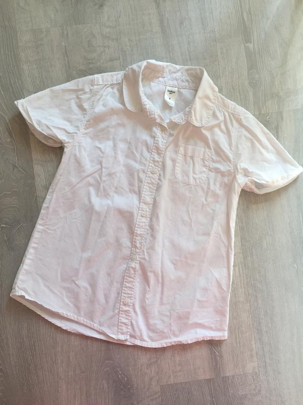 Рубашка oshkosh размер 8 (на рост 128-136см)