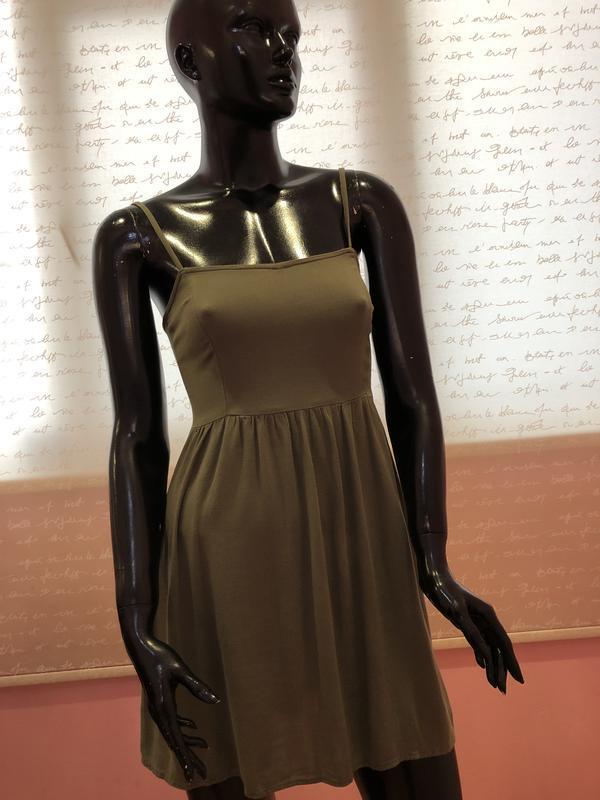 Платье, сарафан струящееся, лёгкое и воздушное бренда h&m, 100... - Фото 2