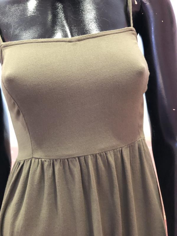 Платье, сарафан струящееся, лёгкое и воздушное бренда h&m, 100... - Фото 3