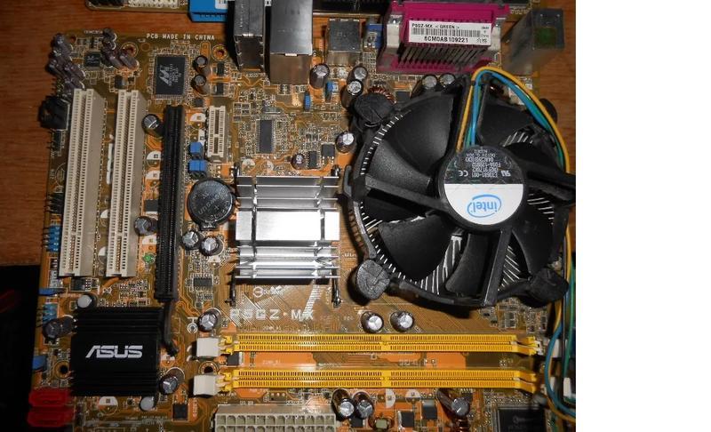Материнская плата Asus P5GZ-mx,Asus P5G-mx IntelSocket775 Core...
