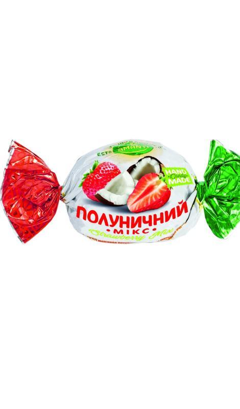 Клубничный микс*Пина колада*Манго и много вкусных конфет