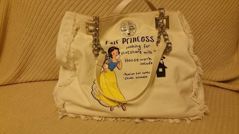 Сумка для принцесы. джинсовая сумка - Фото 2