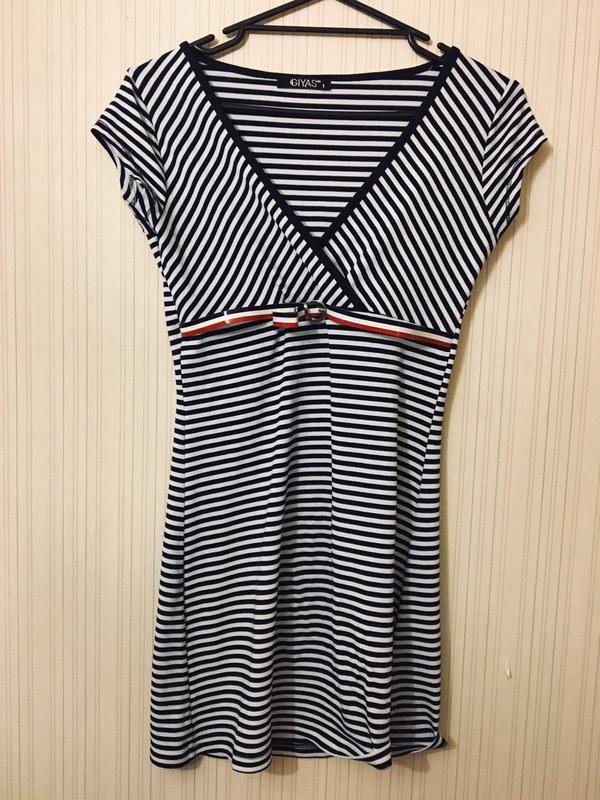 Новое платье в полоску - Фото 2