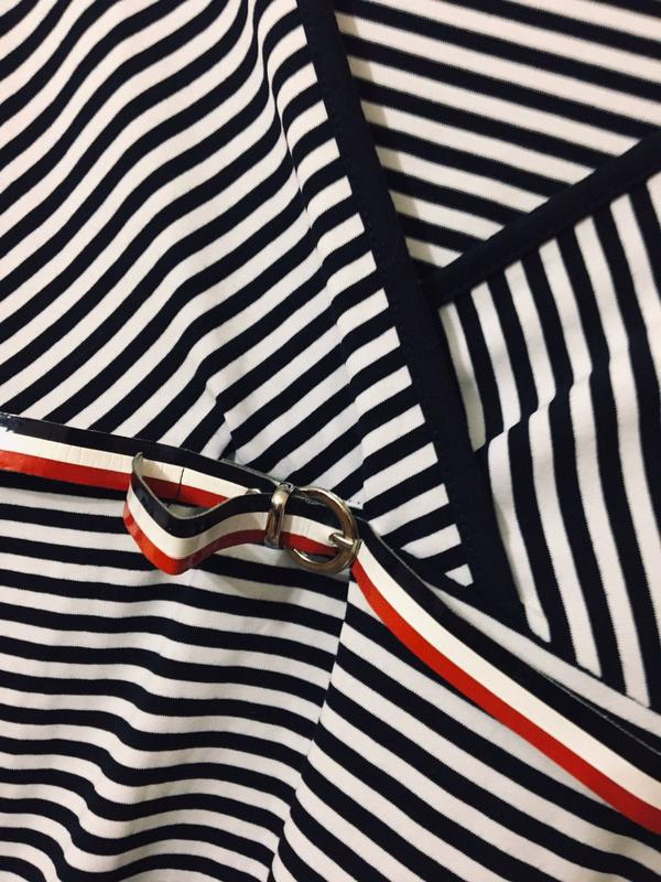 Новое платье в полоску - Фото 3