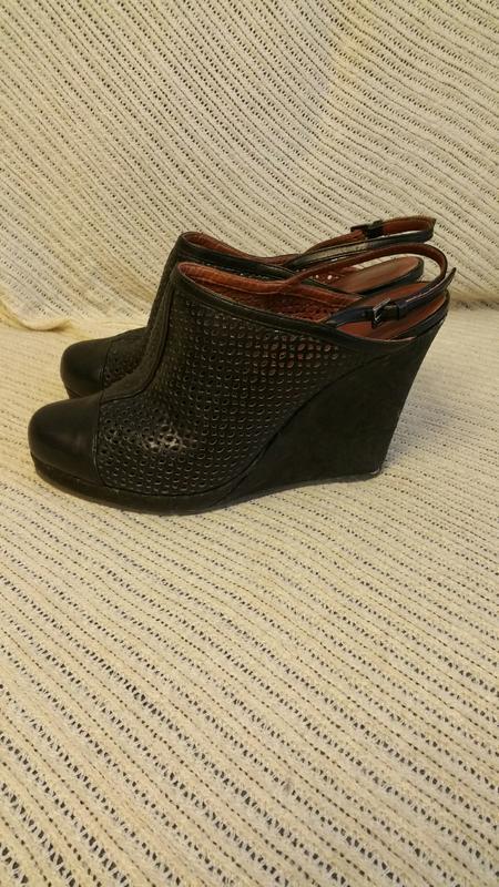 Marccain, босоножки, черные,размер 40