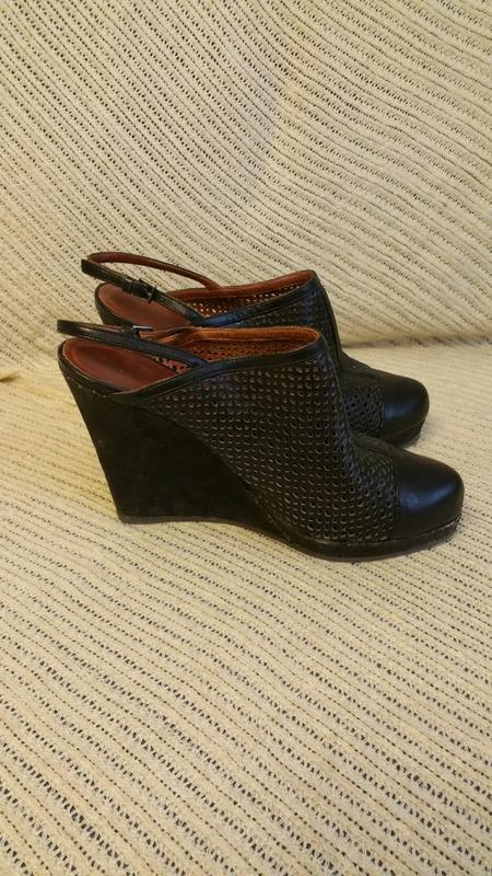 Marccain, босоножки, черные,размер 40 - Фото 3