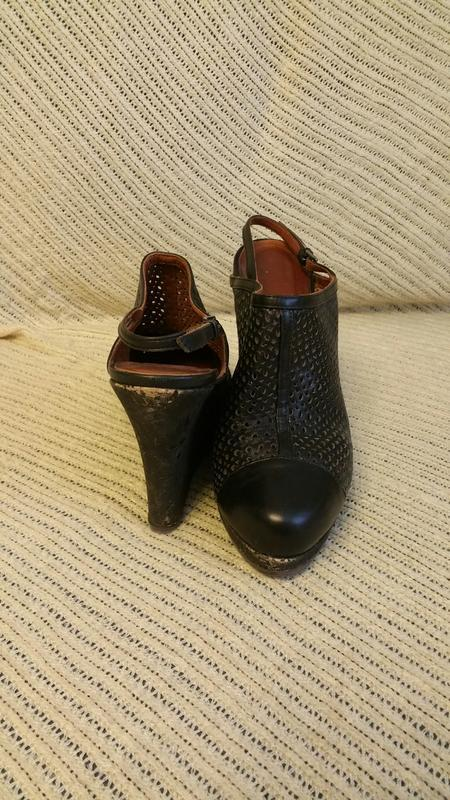 Marccain, босоножки, черные,размер 40 - Фото 4