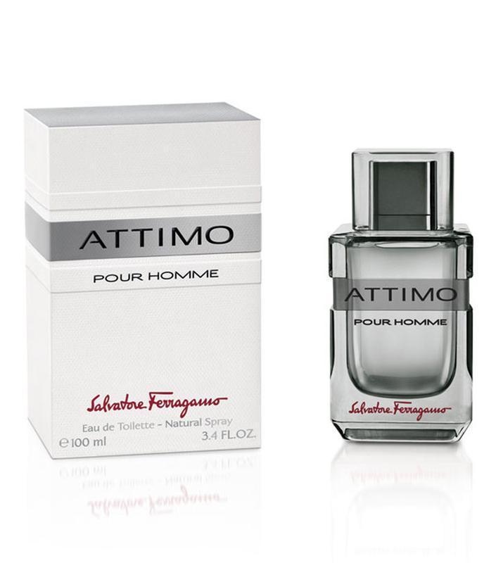 Salvatore Ferragamo  Attimo Pour Homme.  Туалетная вода мужская - Фото 2