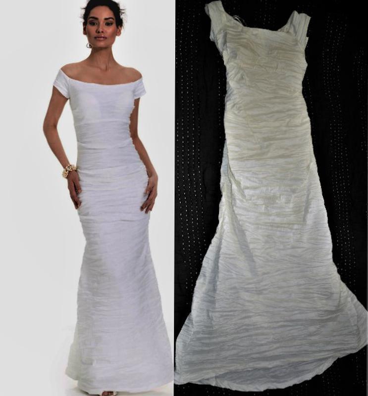 """Платье """"рыбка"""" *alex evenings*, с оголенными плечами и маленьк... - Фото 2"""