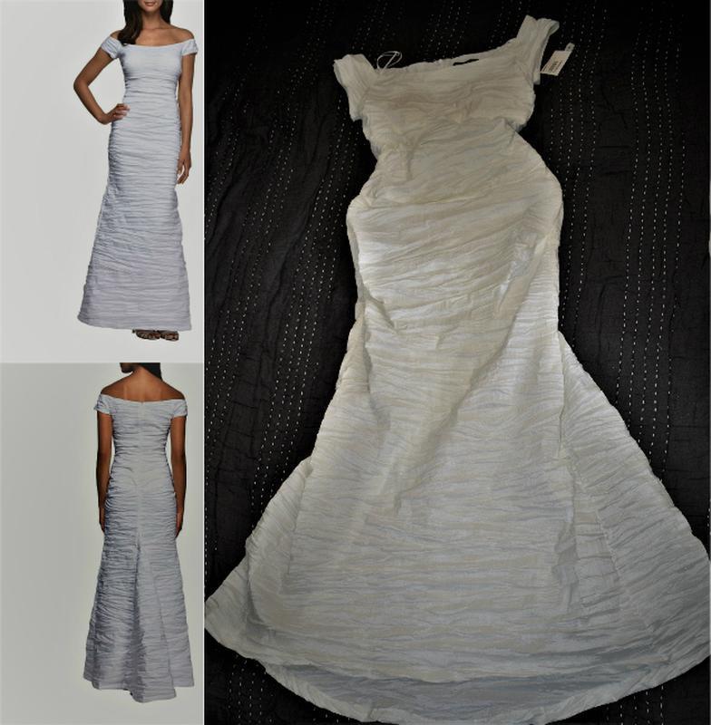 """Платье """"рыбка"""" *alex evenings*, с оголенными плечами и маленьк... - Фото 5"""