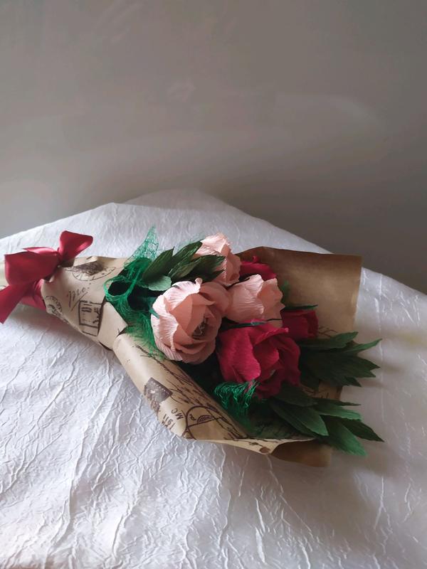 Букет из роз с конфетками. Делаю на заказ. - Фото 2