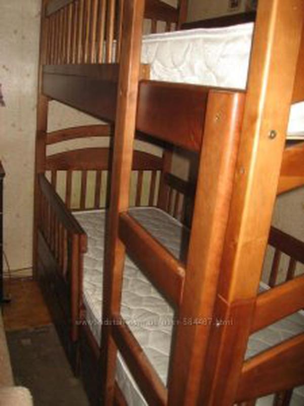 Двухъярусная кровать Карина Люкс с ящиками.