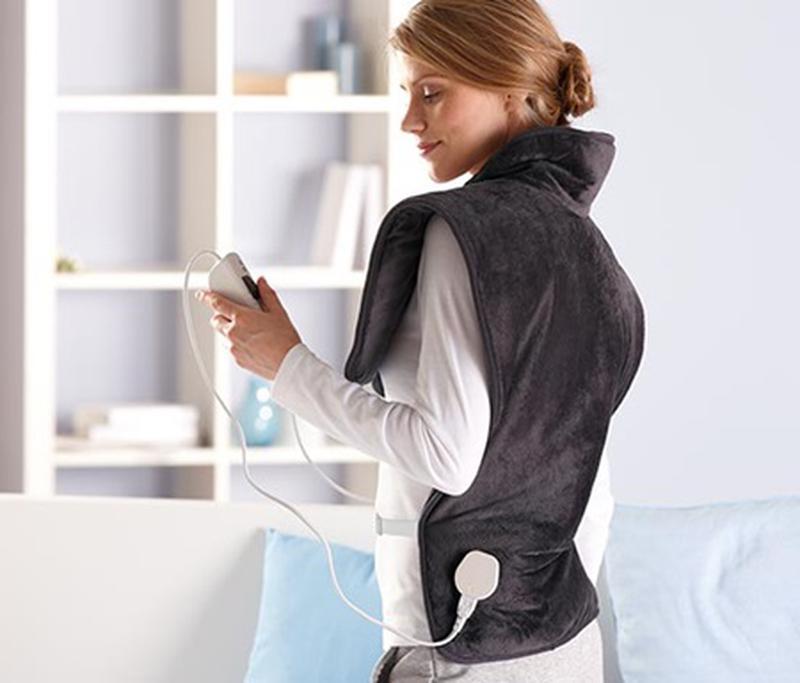 Электрическая грелка для шеи, спины и плеч грелка TCM TCHIBO