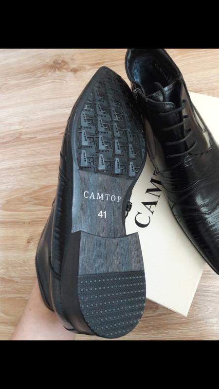 Взуття шкіра 31 см устілка - Фото 2