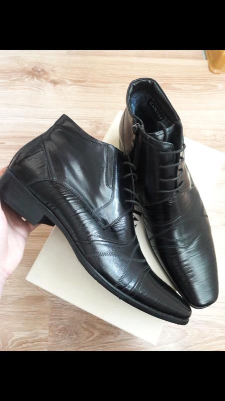 Взуття шкіра 31 см устілка - Фото 3
