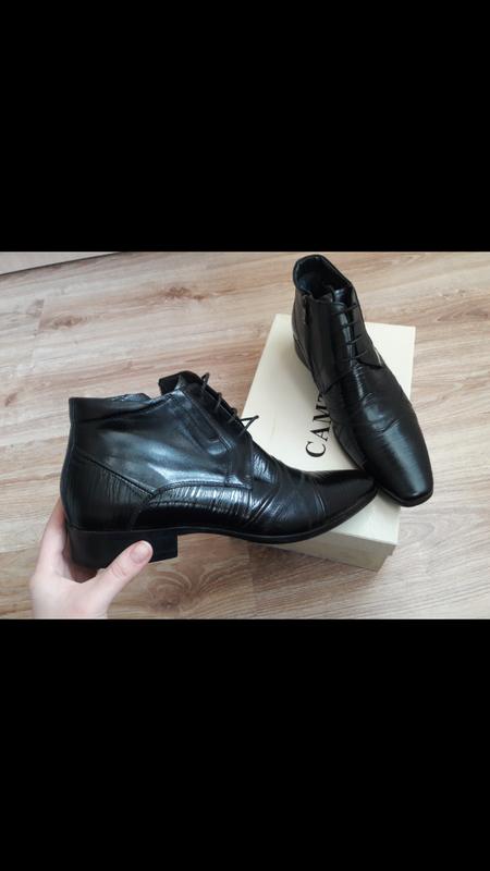Взуття шкіра 31 см устілка - Фото 4