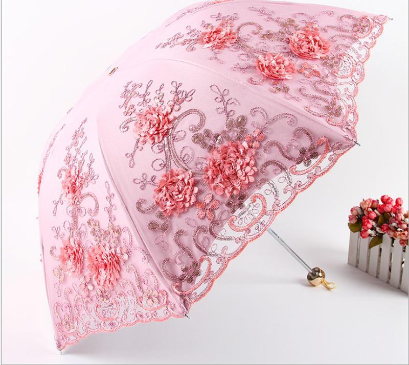 Зонт от дождя и солнца, 5 цветов - Фото 2