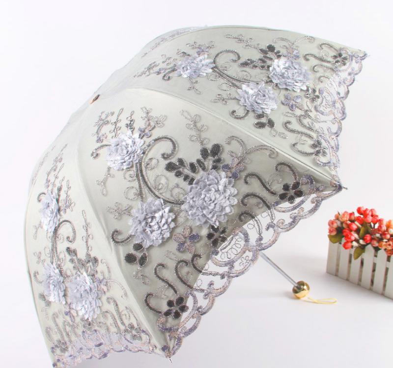 Зонт от дождя и солнца, 5 цветов - Фото 4