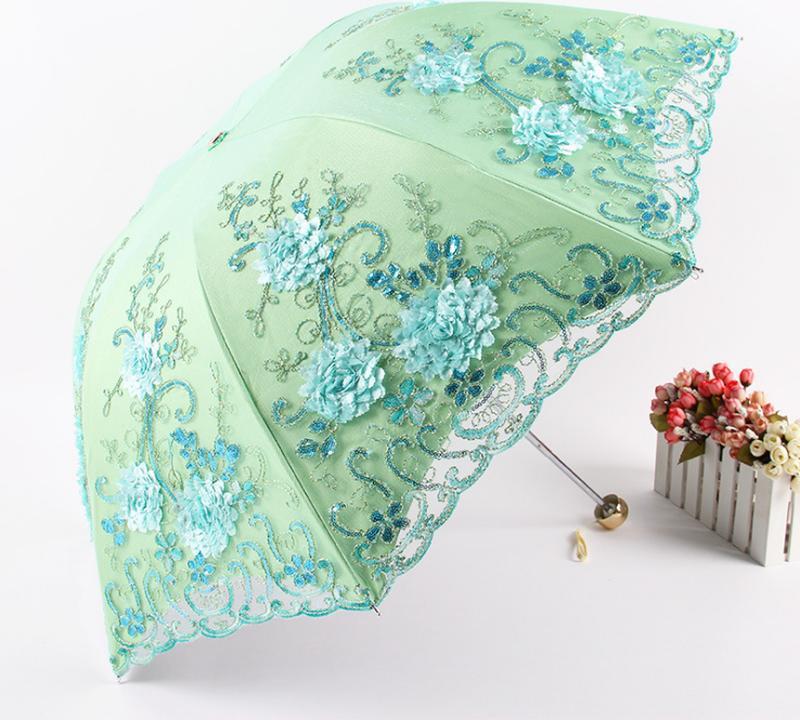 Зонт от дождя и солнца, 5 цветов - Фото 5