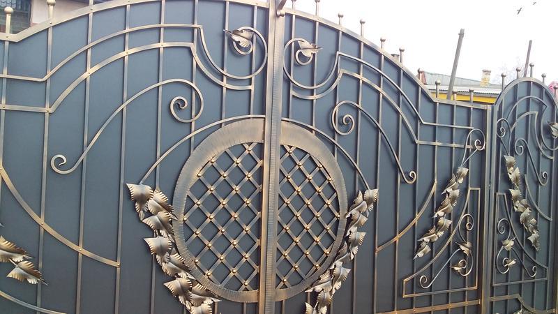 Ковані ворота - Фото 4