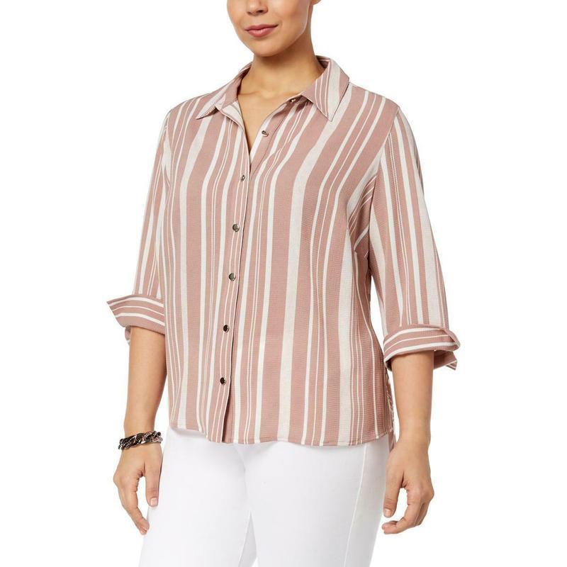 """Блуза для офиса """"ny collection"""" рост """"petite""""  размер plus 1xp..."""