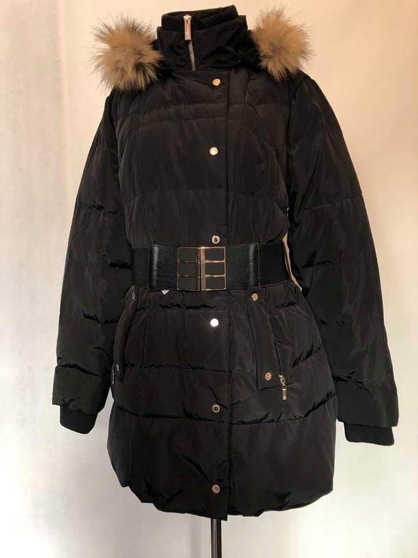 Парка пуховик куртка зимняя morgan. германия. - Фото 3