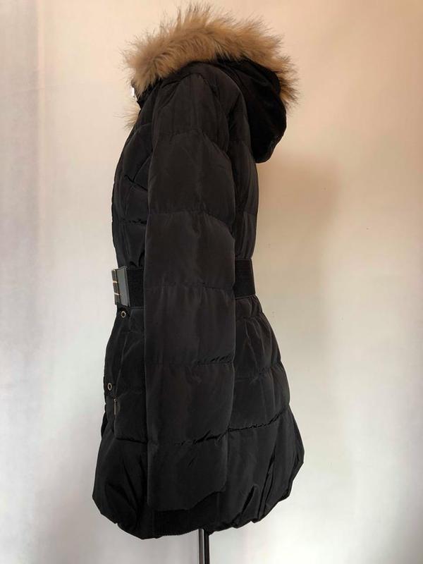 Парка пуховик куртка зимняя morgan. германия. - Фото 5