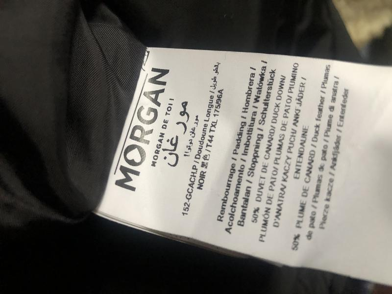 Парка пуховик куртка зимняя morgan. германия. - Фото 7
