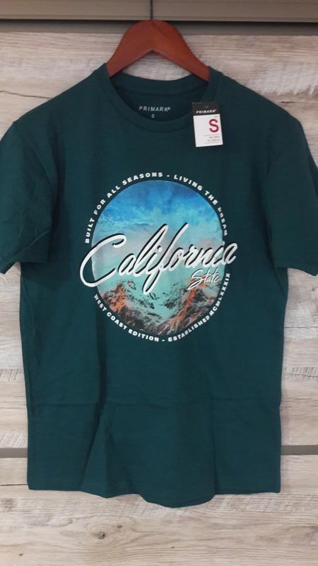 Стильная футболка california р.s