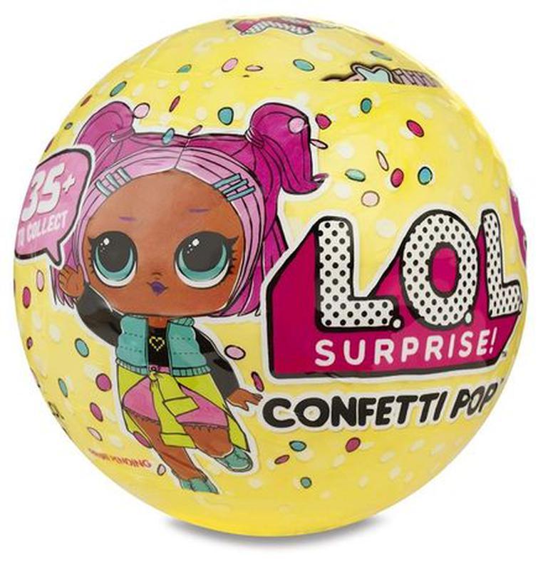 Набор кукла Лол сюрприз в шаре Конфетти серия 3 (Оригинал) MGA - Фото 3