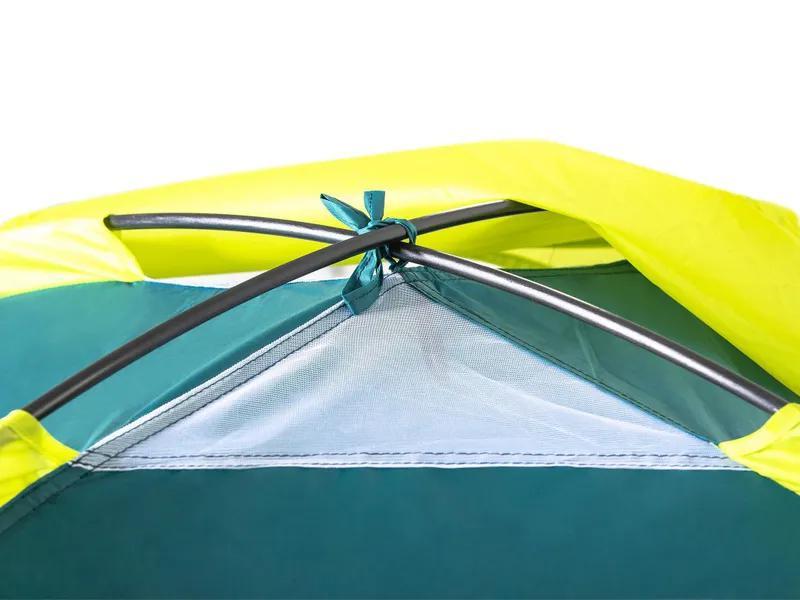 Летняя туристическая 3-х местная походная палатка - Фото 4