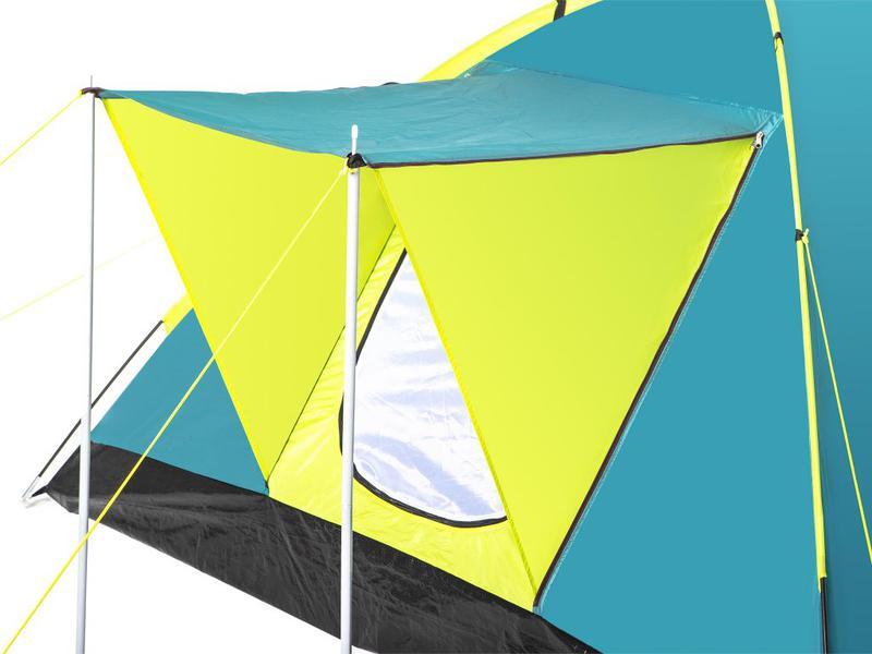 Летняя туристическая 3-х местная походная палатка - Фото 5