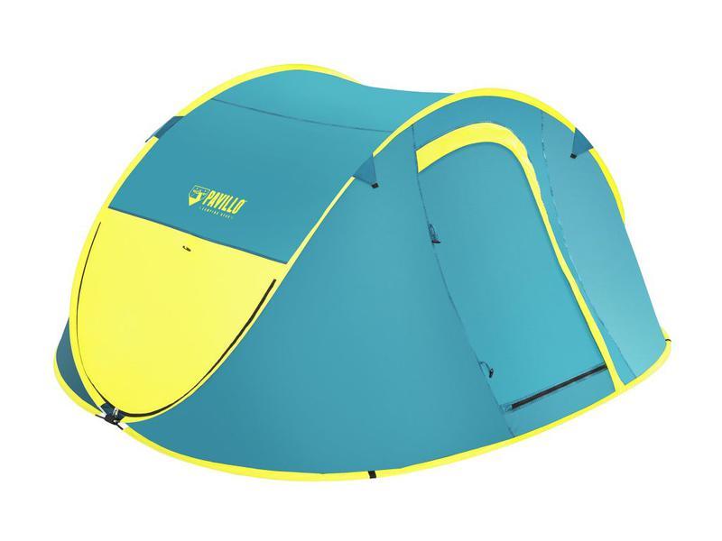 Туристическая 4-х местная летняя палатка автомат - Фото 6