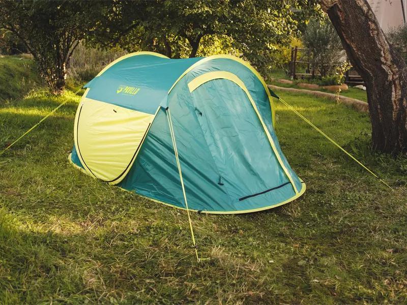 Летняя туристическая 2-х местная палатка автомат