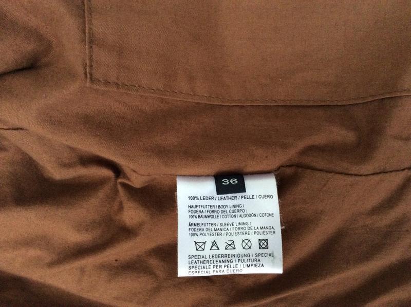 Кожаная куртка пиджак жакет marc o'polo - Фото 5